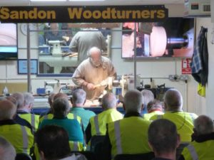 Return visit to Sandon Woodturners